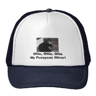 ¡Oliverio, Ollie, Ollie, Ollie mi minino Oliverio! Gorra