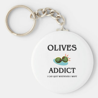 Olives Addict Keychain
