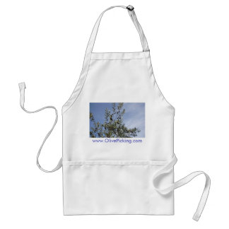 Olives Against A Blue Sky Adult Apron