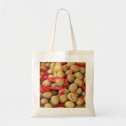 Olives and Chillies Bag