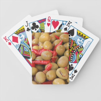Olives and Chillies Playing Cards