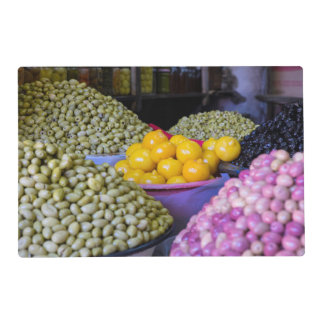 Olives And Lemon At Market Placemat