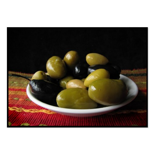 Olives ATC Business Cards