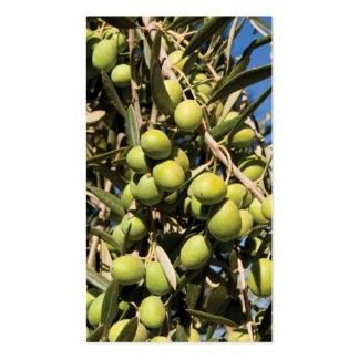 Olives business card