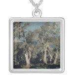 Olives, Corfú, 1912 Collar Plateado