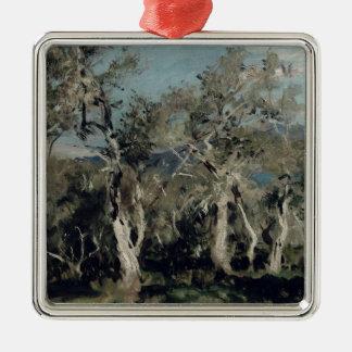 Olives, Corfu, 1912 Metal Ornament