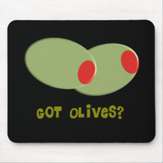 "Olives Design Gifts ""Got Olives?"" Mouse Pad"