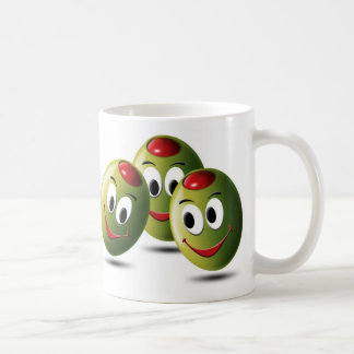 Olives filled with smile coffee mug
