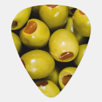 Olives Guitar Pick by TRowanDesign at Zazzle