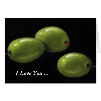 Olives: I Love You With Olive My Heart: Artwork Cards