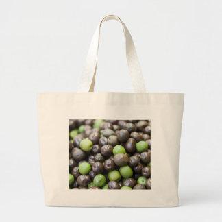 olives in brine large tote bag