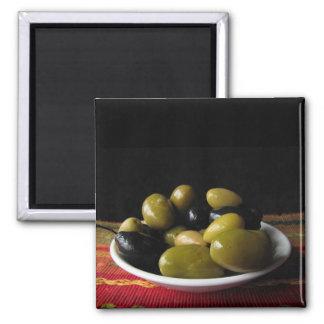 Olives Fridge Magnets
