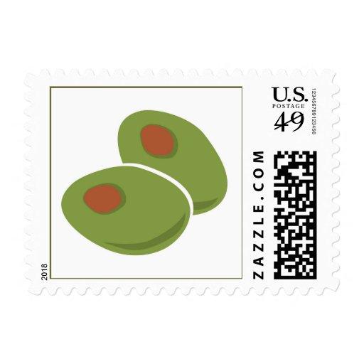 Olives Stamp