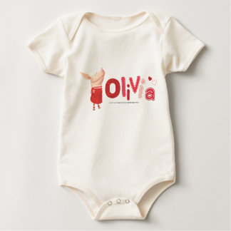 Olivia - 1 baby bodysuit