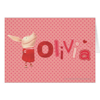 Olivia - 1 card