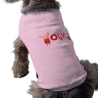 Olivia - 1 doggie tee