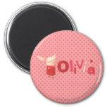 Olivia - 1 magnets