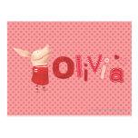 Olivia - 1 postcard
