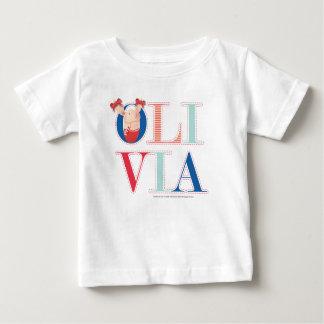 Olivia - 3 2 baby T-Shirt