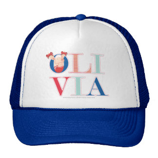 Olivia - 3 2 trucker hat