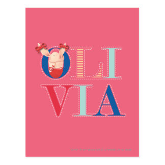 Olivia - 3 post cards