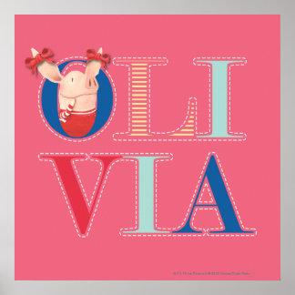 Olivia - 3 poster