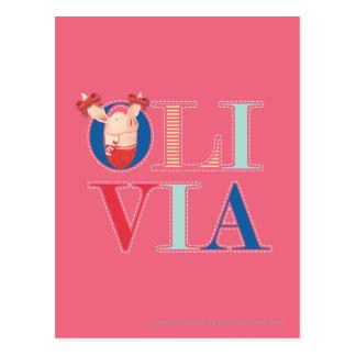 Olivia - 3 postales