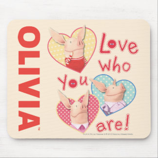 Olivia - amor que usted es alfombrilla de ratones