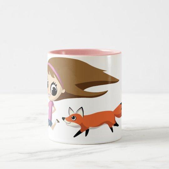 Olivia and Cheddar Mug