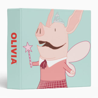 Olivia and Francine - Fairy 3 Ring Binder