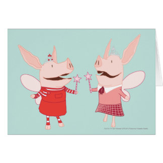 Olivia and Francine - Fairy Cards