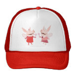 Olivia and Francine - Fairy Hats