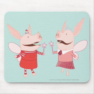 Olivia and Francine - Fairy Mouse Pad
