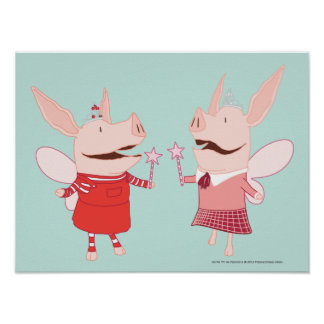 Olivia and Francine - Fairy Posters
