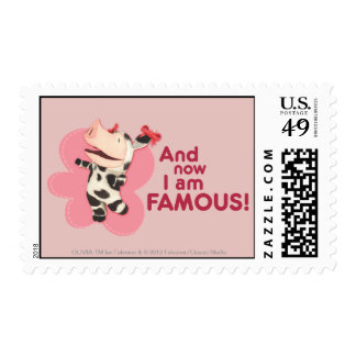 Olivia - And now I am Famous Stamps