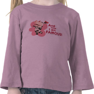 Olivia - And now I am Famous Tshirt