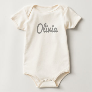 Olivia Baby Clothes Baby Bodysuit