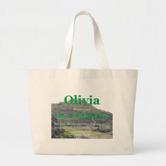Olivia Bolsa Tela Grande
