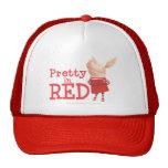 Olivia - bonito en rojo gorras