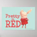 Olivia - bonito en rojo impresiones