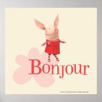 Olivia - Bonjour Poster
