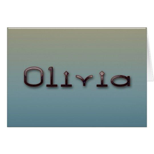 Olivia Card