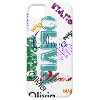 Olivia Case iPhone 5 Name Case