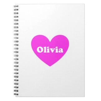 Olivia Libreta Espiral