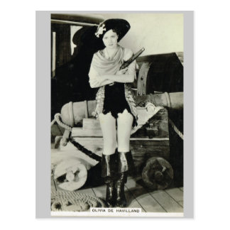 Olivia de Haveilland Tarjetas Postales