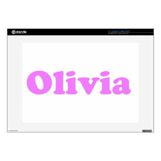 Olivia - Design by Dominic Joyce Decals For Laptops
