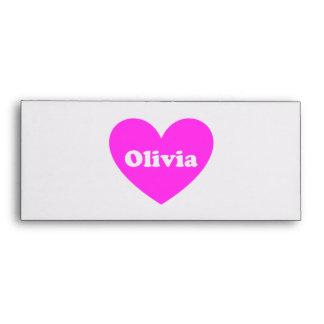 Olivia Envelope