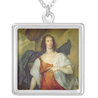 Olivia, esposa del portero de Endymion, c.1637 Collar Plateado