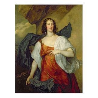 Olivia, esposa del portero de Endymion, c.1637 Postal