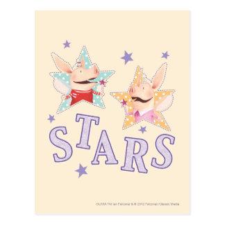 Olivia - estrellas tarjetas postales